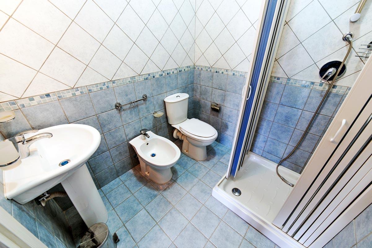 Camera doppia - Azzurra - Bagno