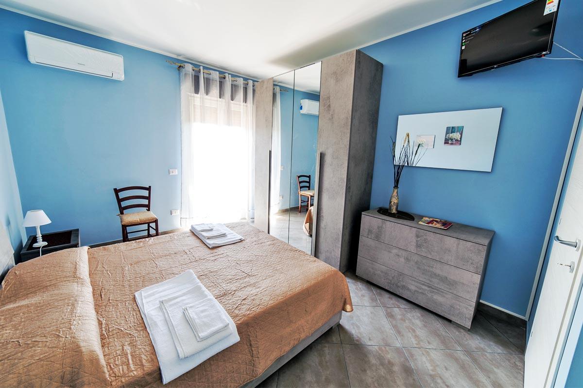 Camera doppia - Azzurra